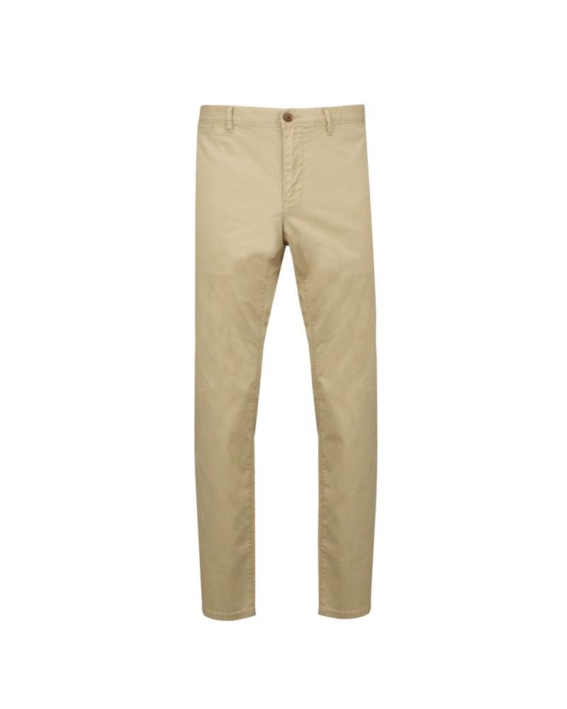 Pantalon chino délavé beige: grande longueur de jambe 38US