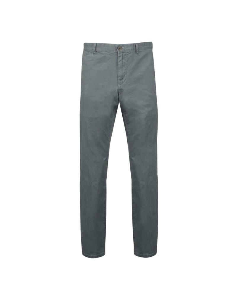 Pantalon chino délavé bleu gris: grande longueur de jambe 38US