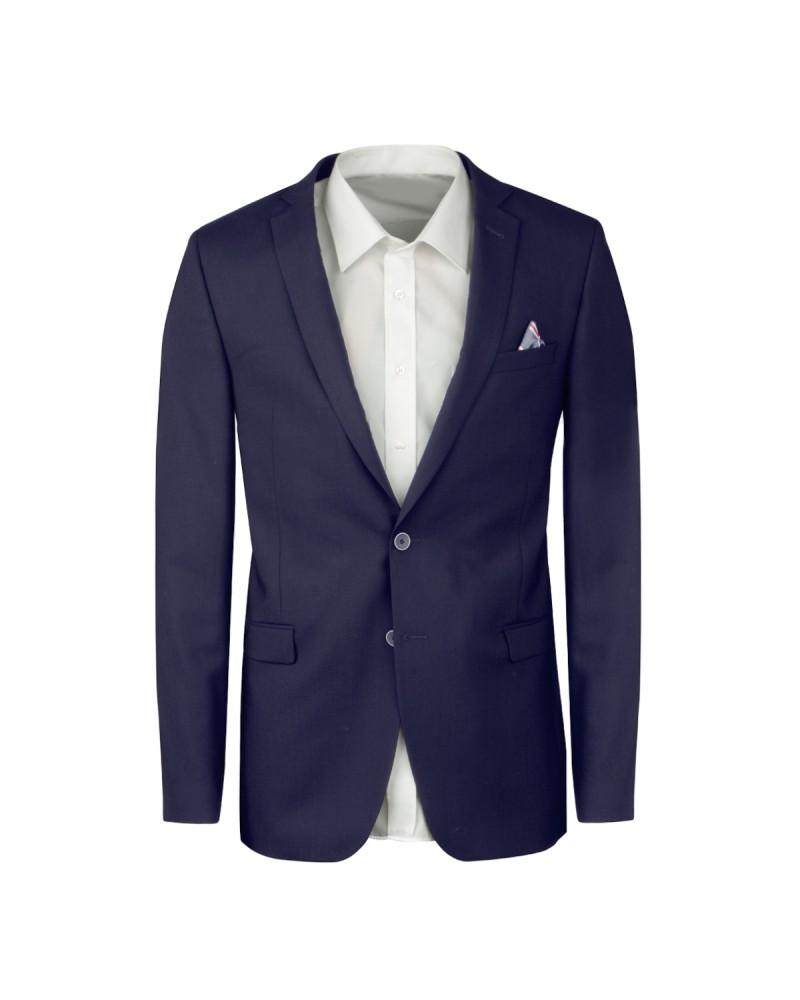 Blazer bleu pour Homme Grand du 50 au 58