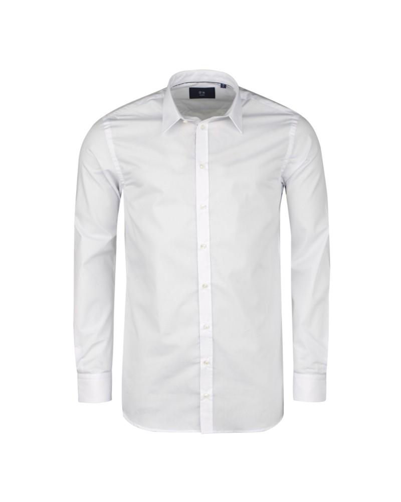Chemise blanche cintrée: manches extra-longues 72cm