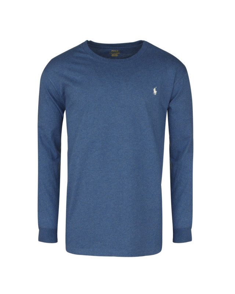 Tee-shirt manches longues bleu: grande taille du XL au 5XL