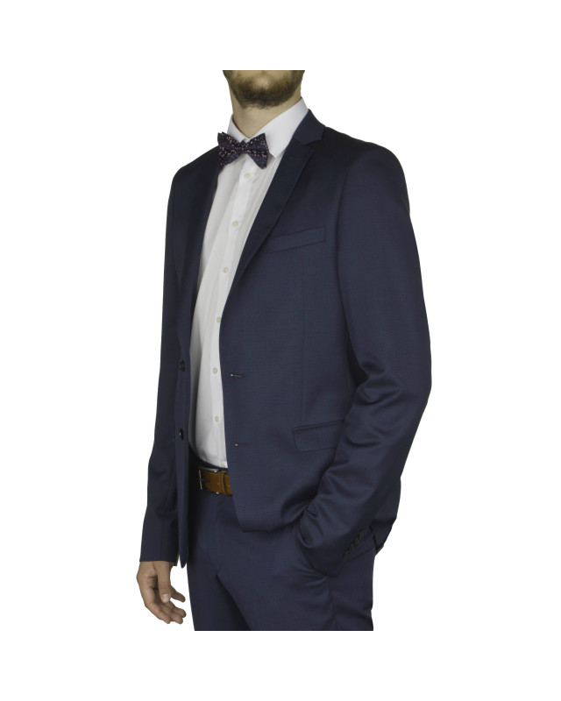 Veste de costume Reda bleu pour Homme Grand du 50 au 60