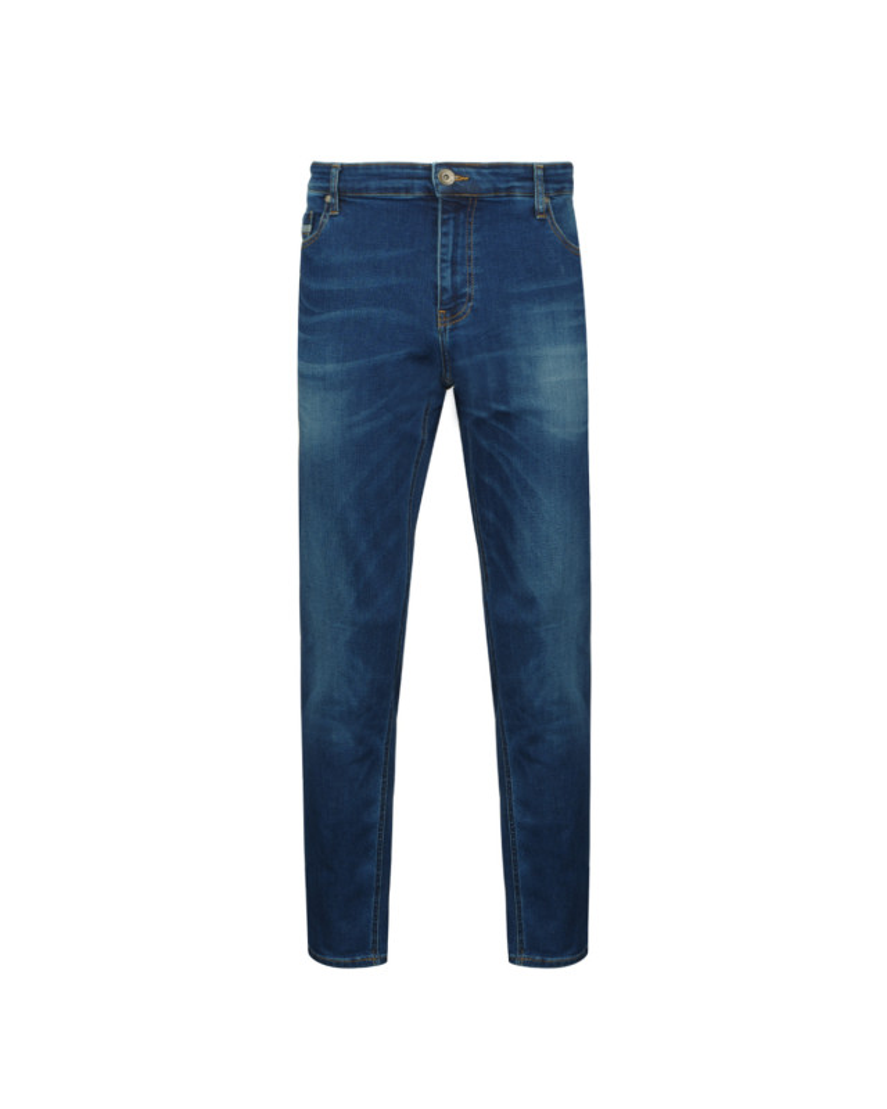 Jean bleu stone: grande longueur de jambe 38US