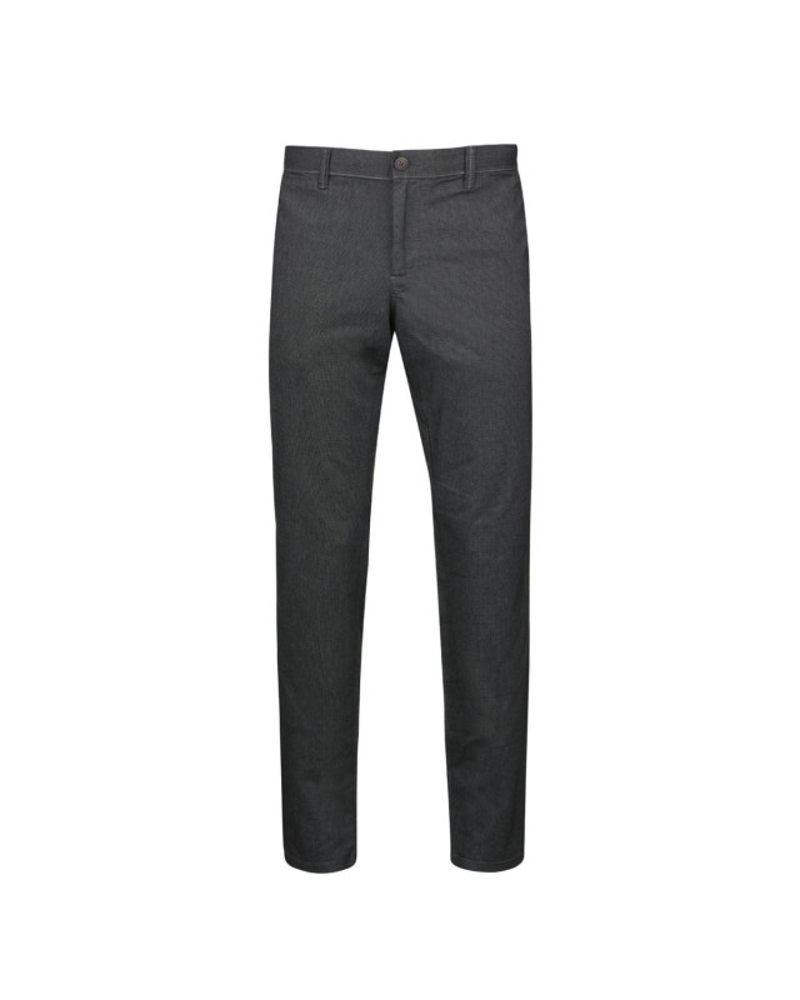 Pantalon chino flanelle gris: grande taille jusqu'au 62FR (48US)