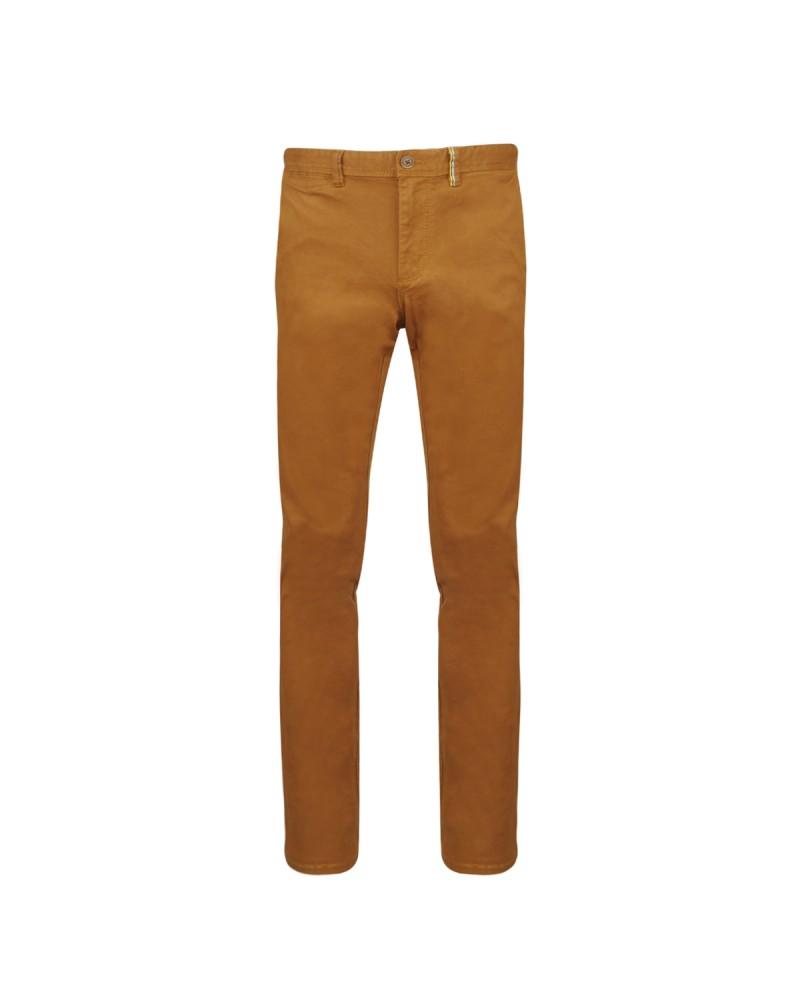 Pantalon chino cognac: grande longueur de jambe 38US
