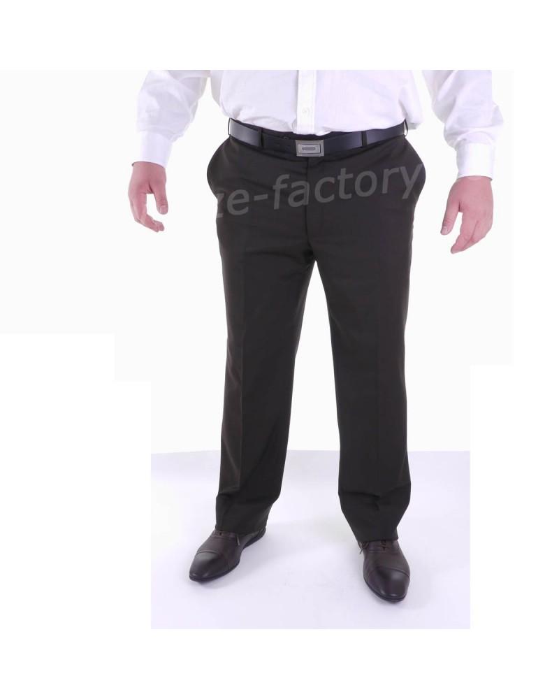 Pantalon de costume Excellence Brun - Taille Elancée : du 42 au 60