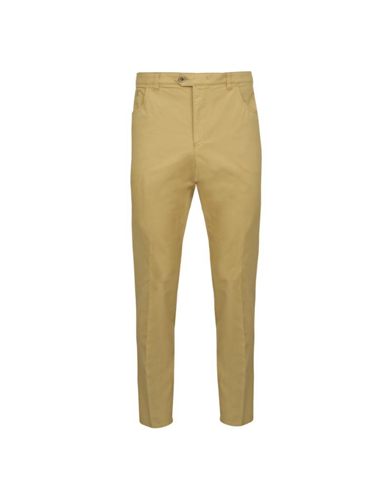 Pantalon chino noisette: grande taille jusqu'au 68FR (54US)