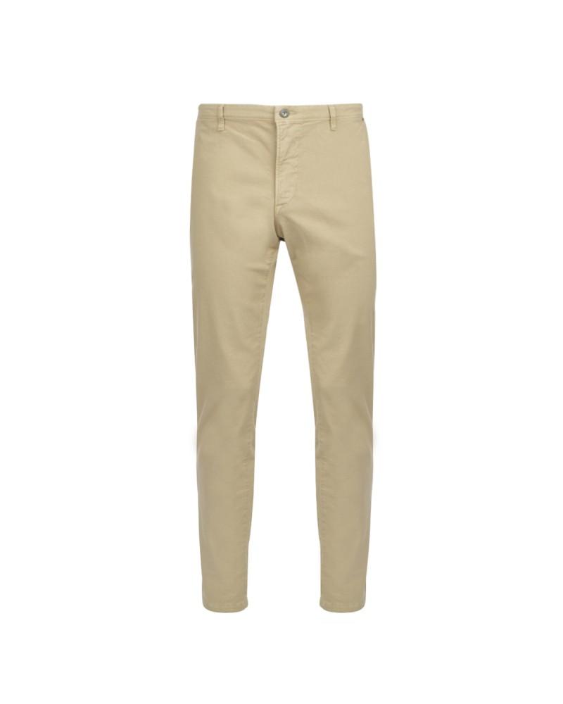 Pantalon chino beige: grande longueur de jambe 38US