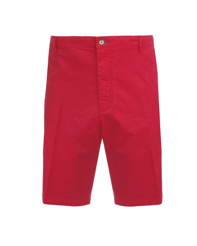 Short chino rouge: grande taille jusqu'au 64FR (50US)