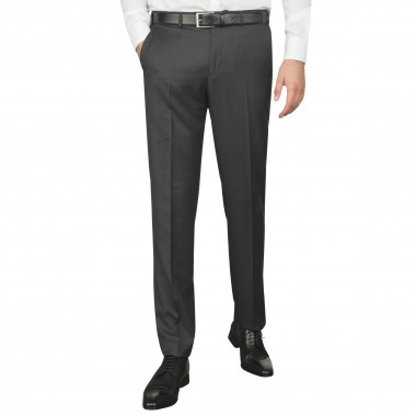 Pantalon de costume anthracite pour homme grand : du 44 au 52/54
