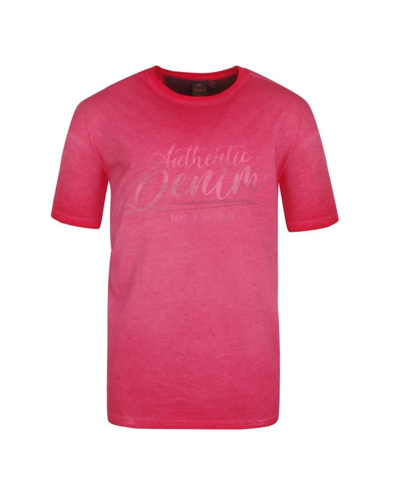 Tee-shirt rose: grande taille du 2XL au 8XL
