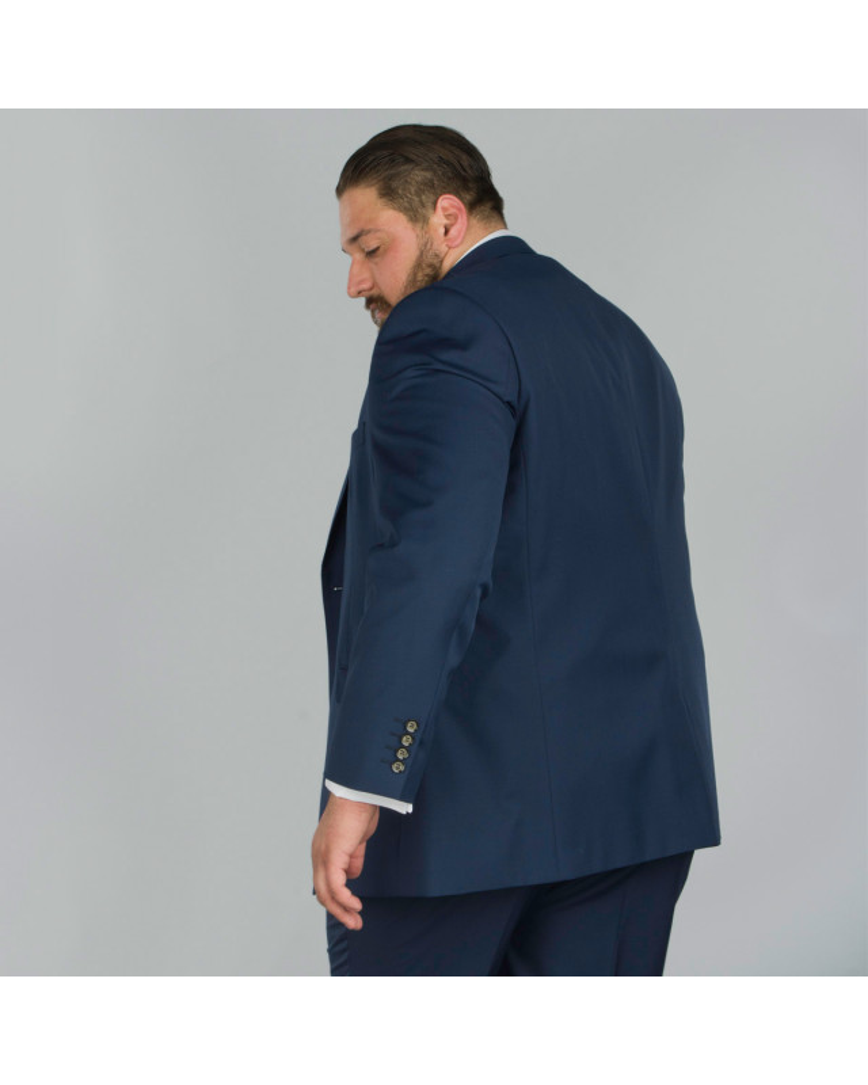 Neuf Grande Taille plusgröße Hommes Manches Longues Sweat Veste Royal Bleu Taille 80//82 et 84//86