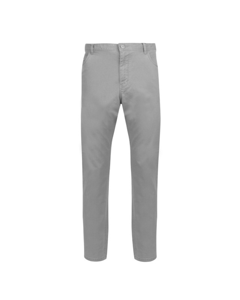 Pantalon 5 poches bleu gris: grande longueur de jambe 38US