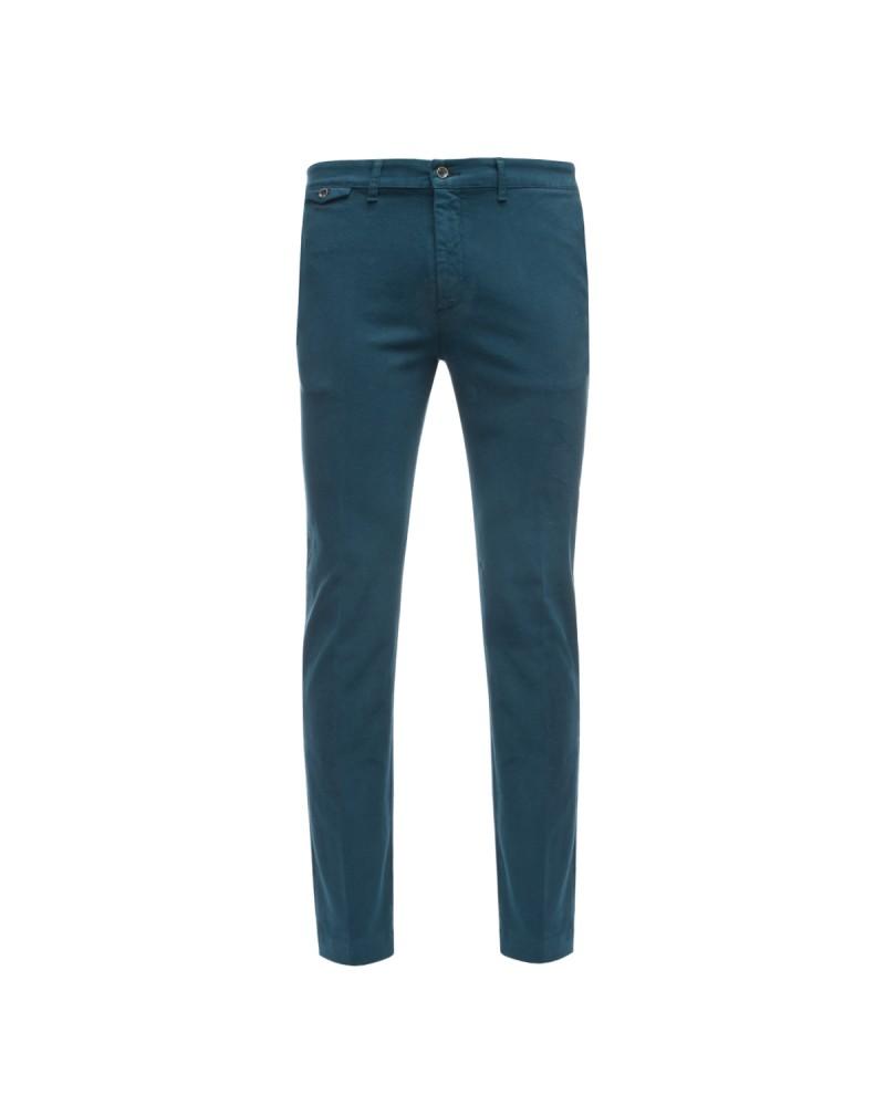 Pantalon chino 1214 bleu grande taille