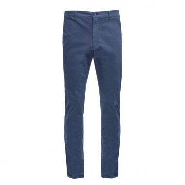 Pantalon chino 1214 bleu marine Homme grand