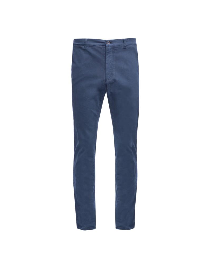 Pantalon chino 1214 bleu marine Homme grand