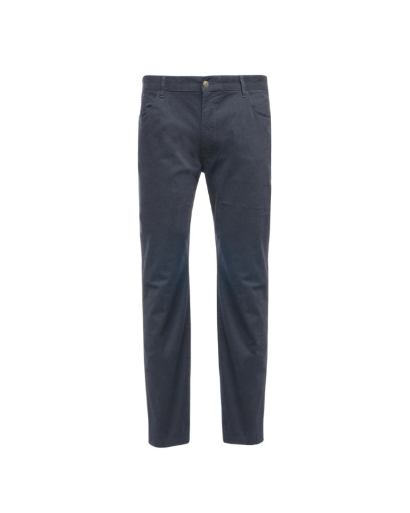 Pantalon 5 poches Eden Park grande taille bleu marine