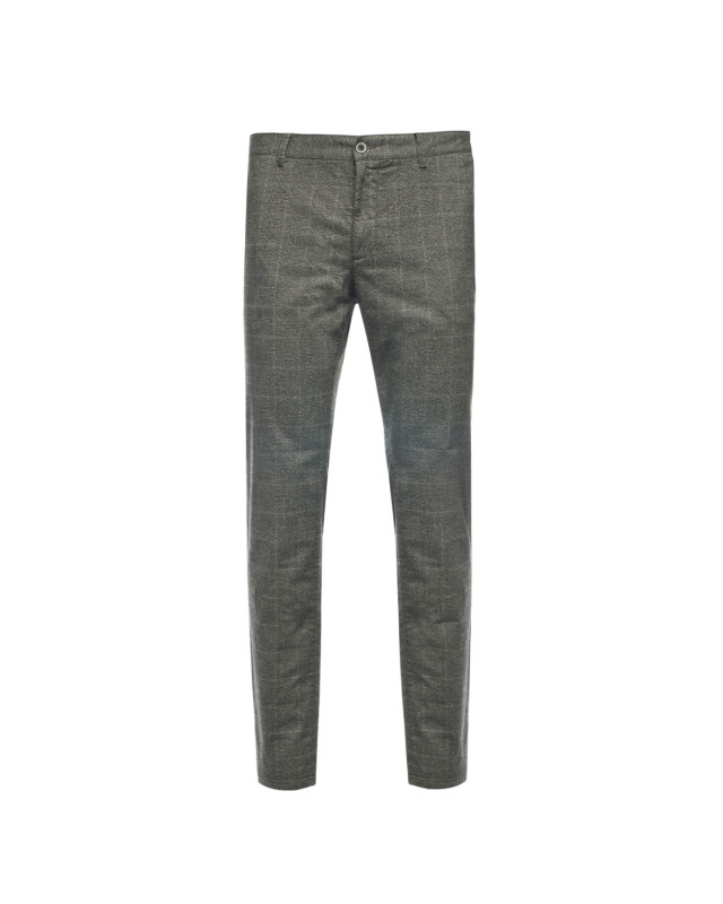 Pantalon chino Redpoint grande taille gris