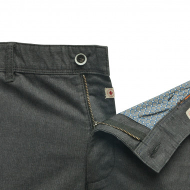 Pantalon chino Redpoint grande taille anthracite