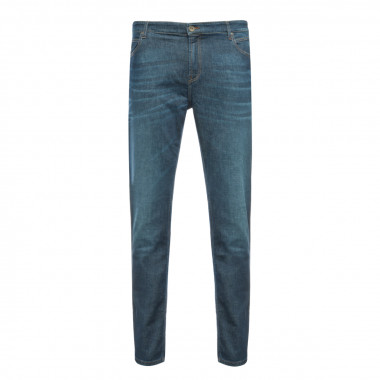 Jean Maneven grande taille Regular bleu