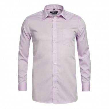 Chemise chambray Maneven grande taille parme