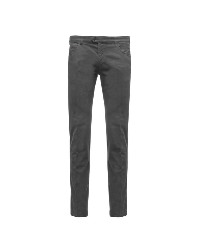 Pantalon chino Maneven anthracite grande taille