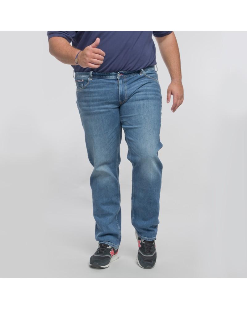 Jean Madison en stretch Tommy Hilfiger grande taille bleu