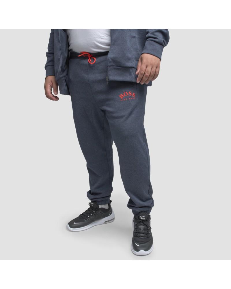 Pantalon de jogging Hugo Boss grande taille chiné gris