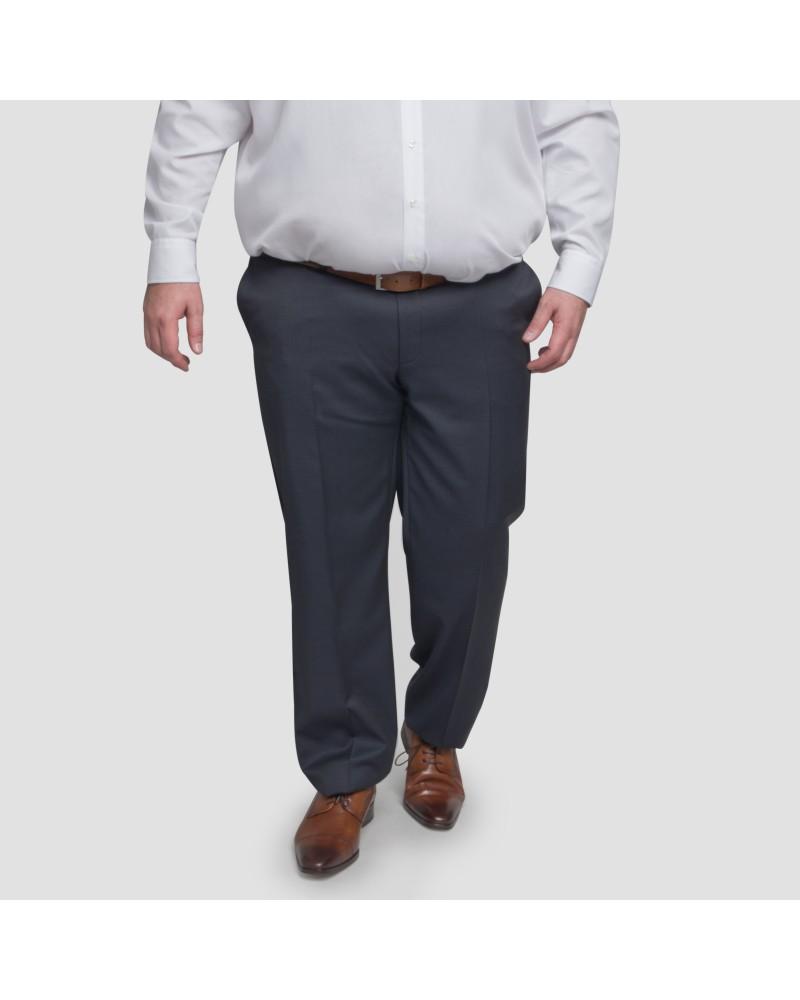 Pantalon de costume Motif marine: grande taille du 54 au 64