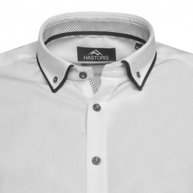 Chemise Hastorg grande taille blanche