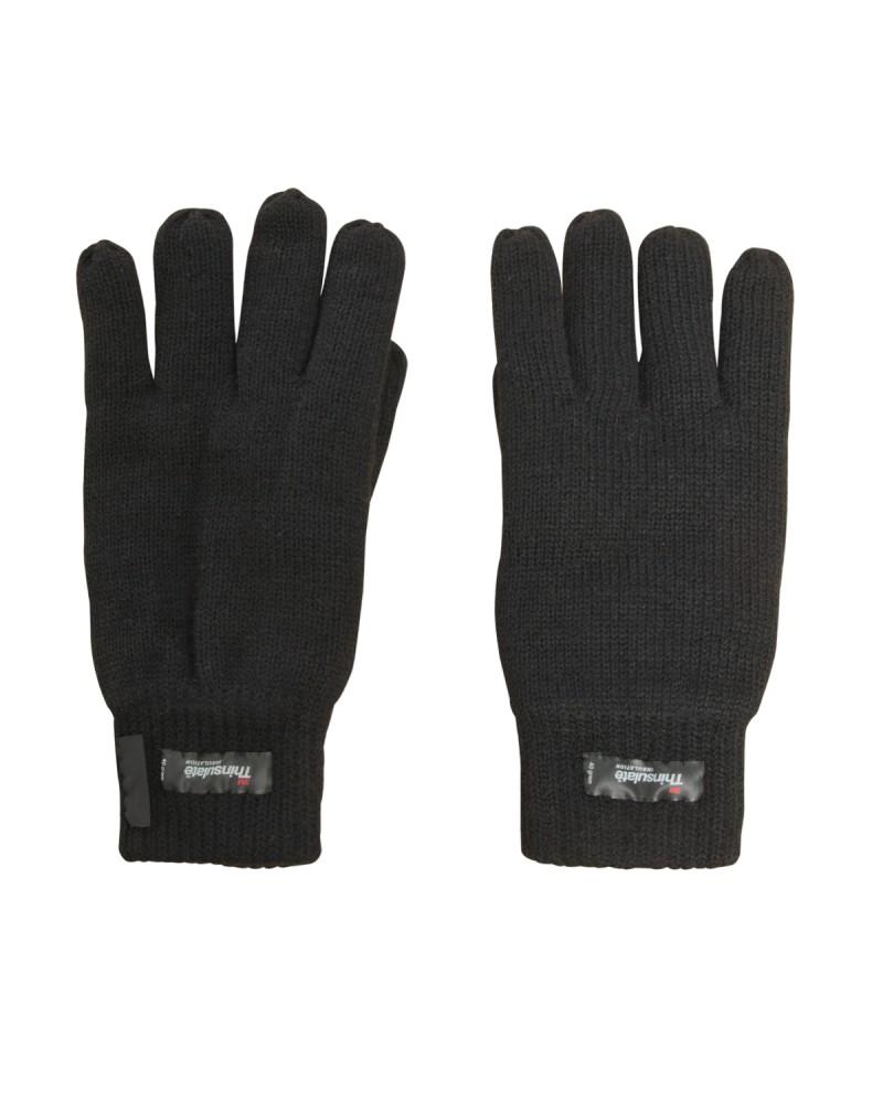 Paire de gants noir : de la taille M à la taille 2XL