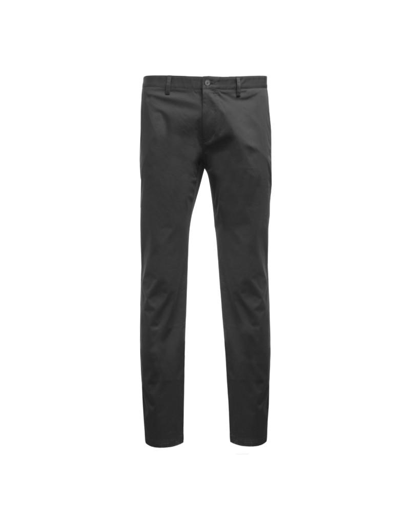 Pantalon chino Hugo Boss noir grande taille