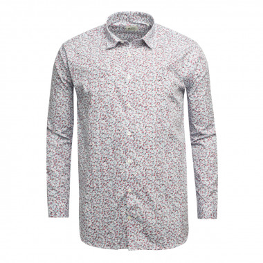Chemise liberty MN03 manches extra-longues 72 cm blanche