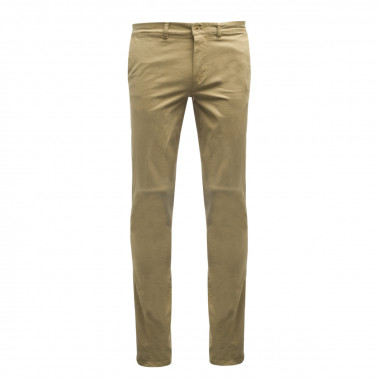 Pantalon chino 1214 beige homme grand