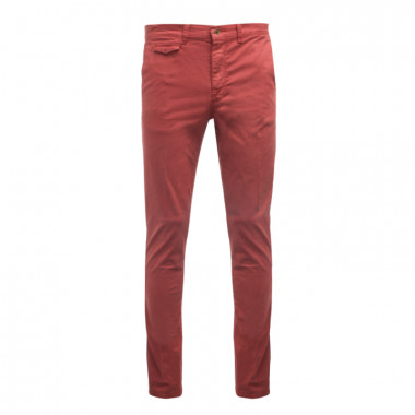 Pantalon chino 1214 rouille homme grand