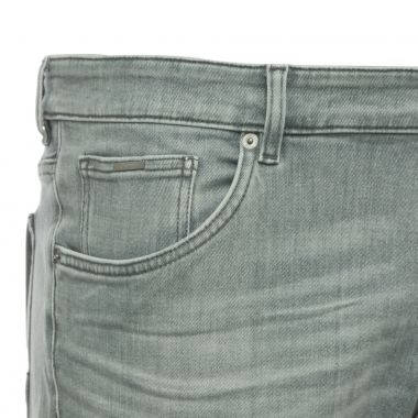 Jean stretch Hugo Boss Regular grande taille gris clair