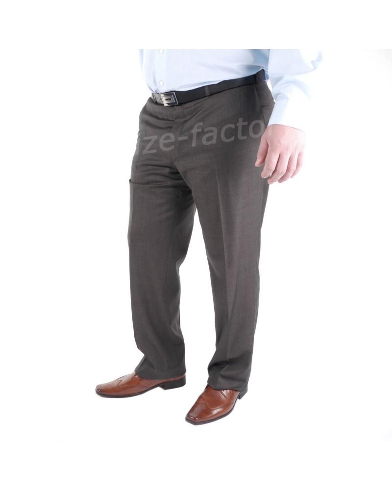 Pantalon de costume Préférence marron - Taille standard du 56 au 64