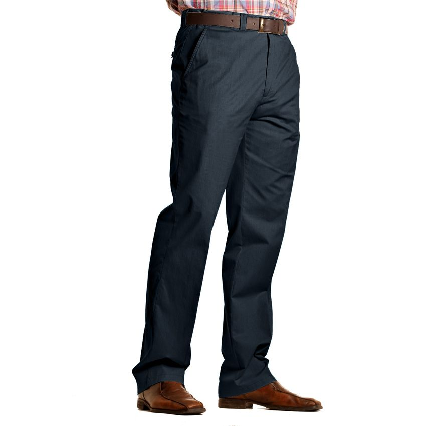 pantalon chino coton marine pour homme grand longueur 38us size factory oakman. Black Bedroom Furniture Sets. Home Design Ideas