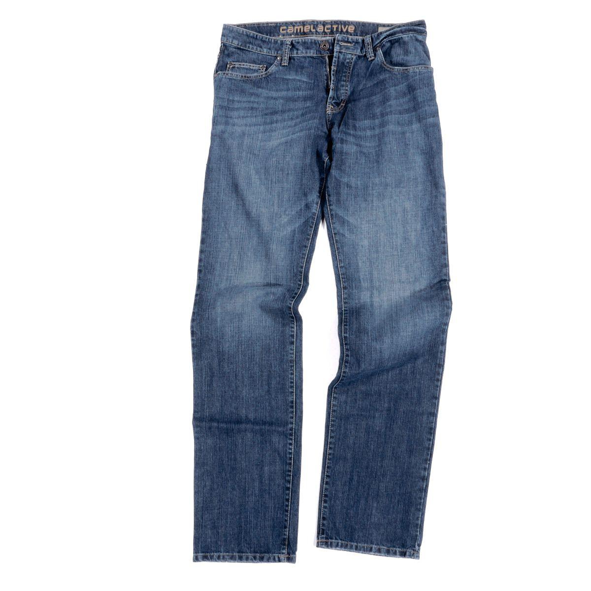 Jean Woodstock bleu délavé : grande longueur de jambe 36US