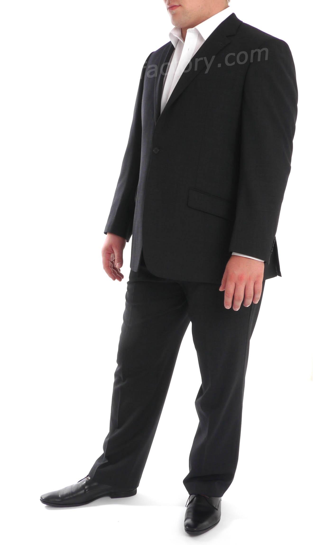 costume grande taille gris fonc skopes. Black Bedroom Furniture Sets. Home Design Ideas