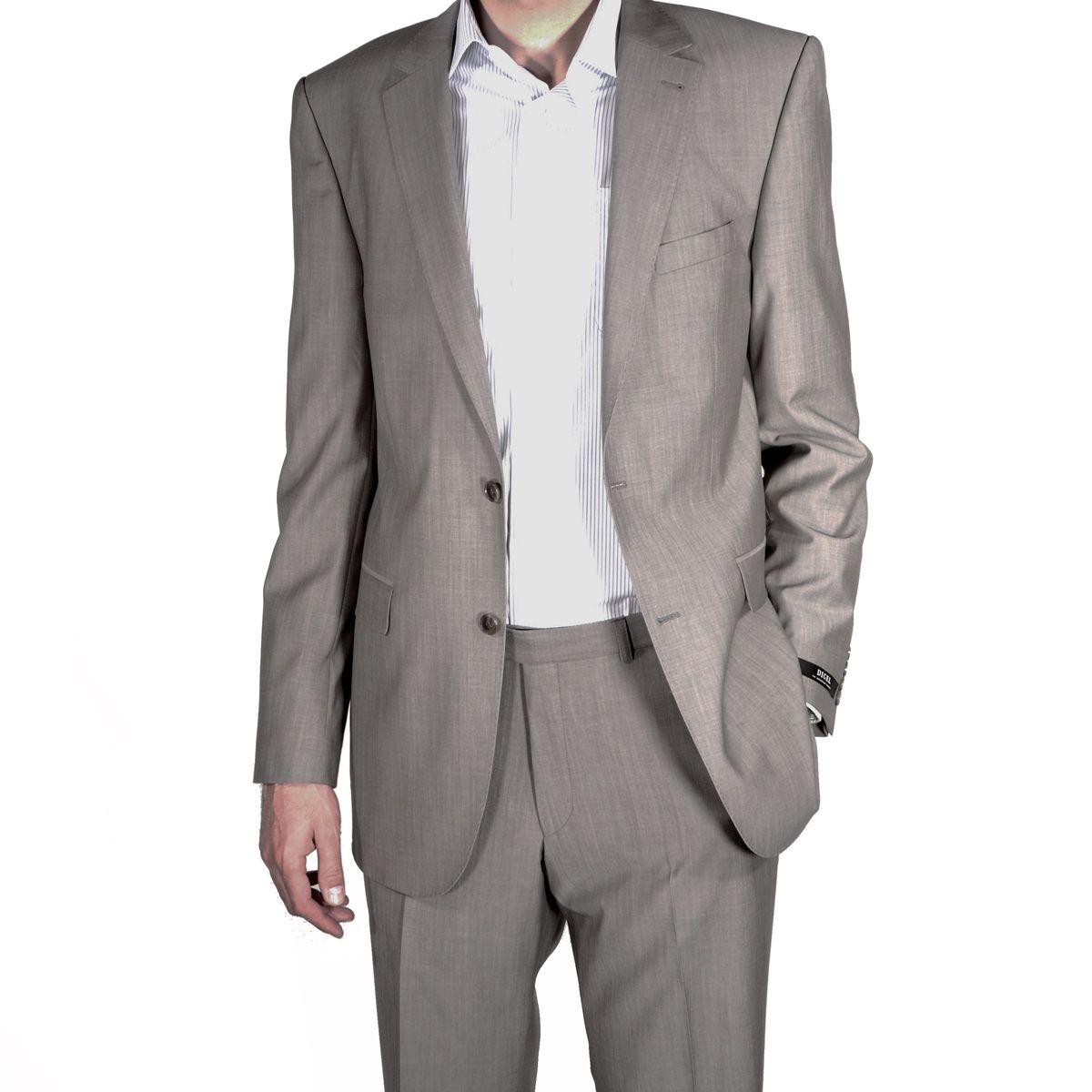 costume grande taille gris beige homme grand digel. Black Bedroom Furniture Sets. Home Design Ideas