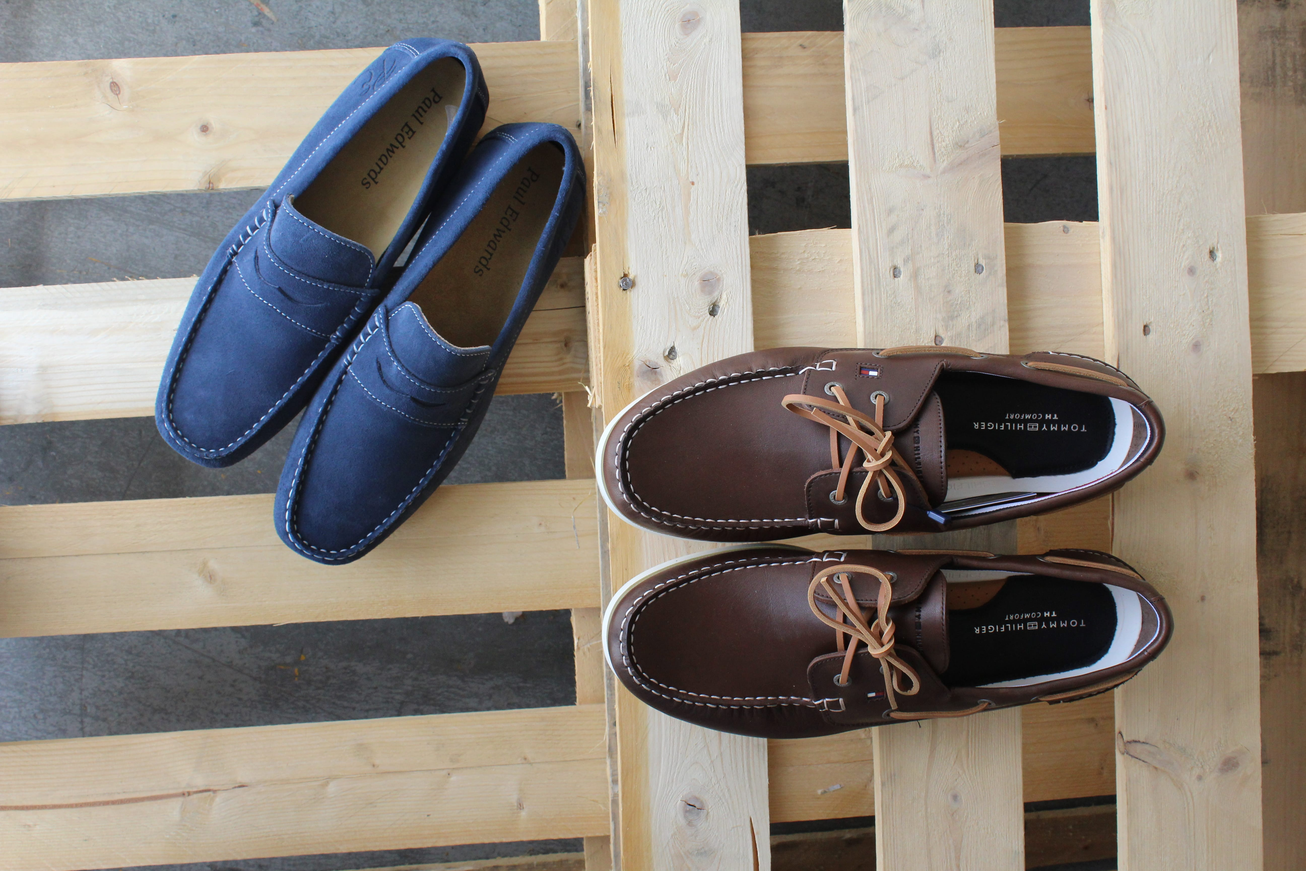 mocassin et chaussure bateau grande taille