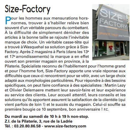Le Wasqualien - Size-Factory