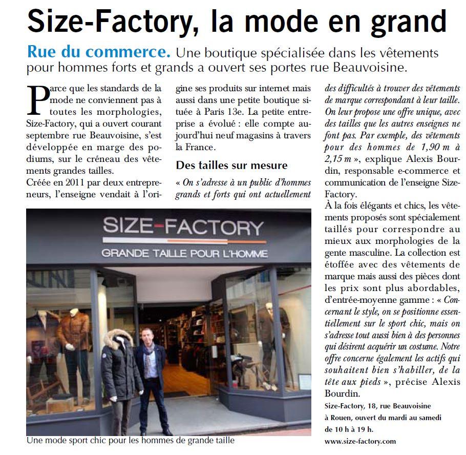 Size-Factory Rouen - Paris-Normandie