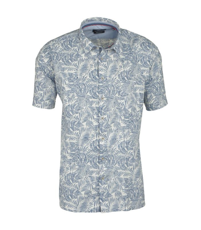 chemise manches courts effet