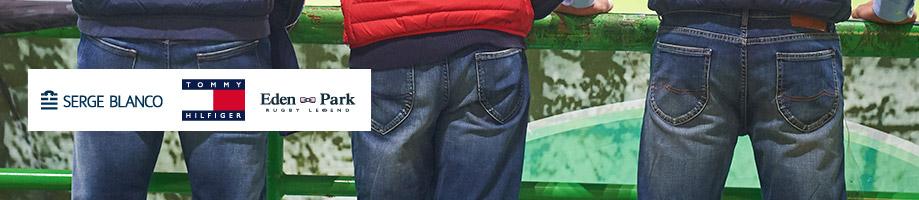 Jeans Grande Taille Homme - Serge Blanco - Tommy Hilfiger - Eden Park