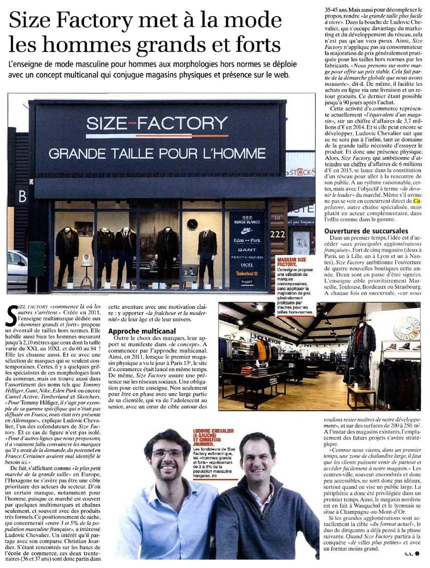 Journal du Textile - Size-Factory