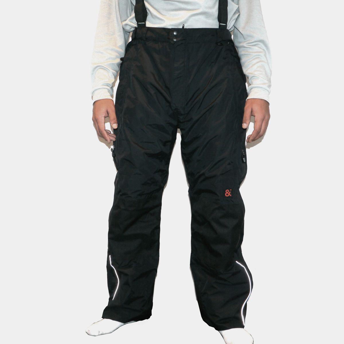 pantalon de ski noir grande taille jusqu 39 au 9xl size factory marc and mark. Black Bedroom Furniture Sets. Home Design Ideas