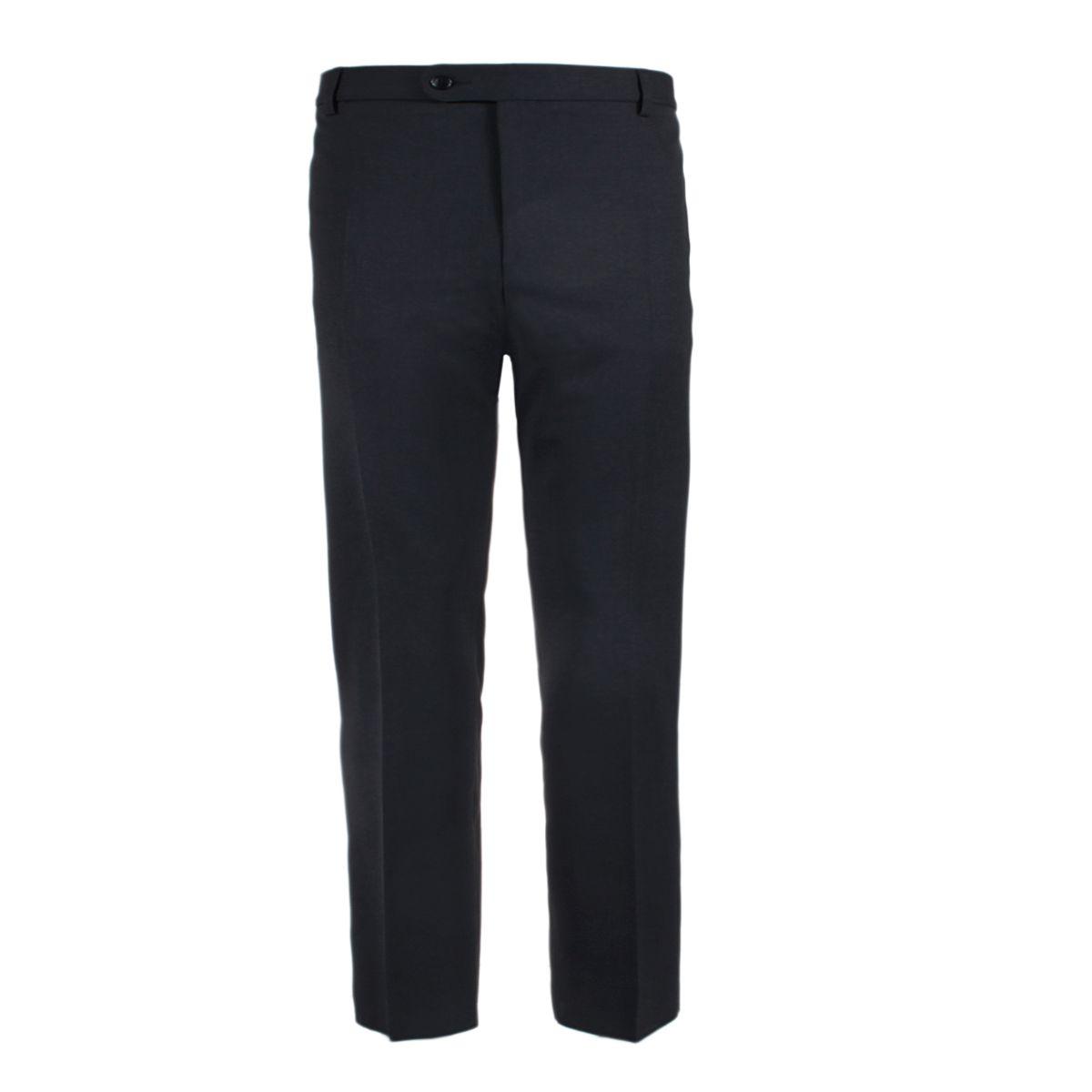 pantalon de ville noir pour homme grand grande longueur de jambe 40us size factory life and. Black Bedroom Furniture Sets. Home Design Ideas