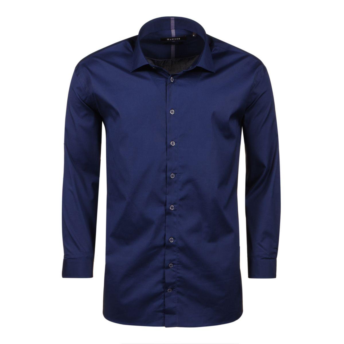 chemise bleue grande taille du 44 xl au 54 6xl size factory maneven. Black Bedroom Furniture Sets. Home Design Ideas